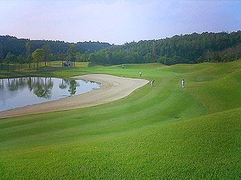 ゴルフラウンド25回目:アクアラインGCは57+59=116。風に負けないボールを打ちたい。
